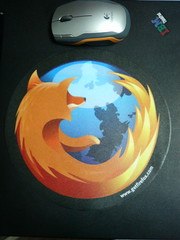 Firefox mouse pad