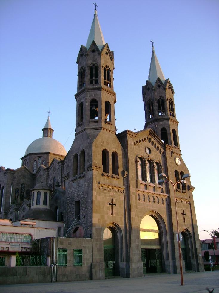 Basílica de la Misericordia en Apizaco Tlax.