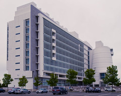 Central Islip Federal Courthouse With Tilt and Shift (Diacritical) Tags: richardmeier centralislip d700 24mmf35pce damatocourthouse