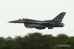 "F-16C ""Mako"" wheels up (taddzilla) Tags: plane jet f16 viper fm mako fighterplane fightingfalcon f16c allrightsreserved afrc 87244 homesteadairreservebase 93fs floridamakos a"