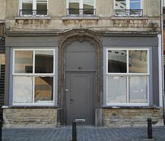 Bruxelles.   Brussels. (caramoul25) Tags: street door windows brussels reflection bruxelles porte rue reflets faade fentres anderlecht