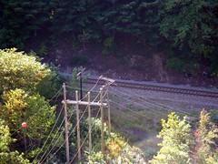 Canadian Pacific Telegraph (Bad Biker Benny) Tags: gate pacific air tram canadian telegraph hells