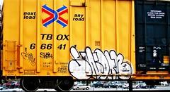 IMG_5978 (mightyquinninwky) Tags: railroad graffiti tag graf tracks railway tags tagged railcar rails boxcar graff graphiti freight trainart fr8 railart boxcarart freightart taggedboxcar paintedboxcar paintedrailcar taggedrailcar