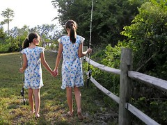 My sister my friend (Laurarama) Tags: love sisters walking fishing friendship holdinghands binding ourdailychallenge