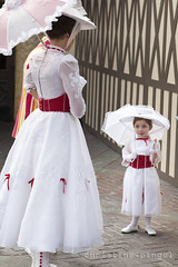 Mary Poppins & Her Smallest Fan (c