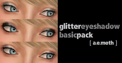 Glitter Eyeshadow: Basic Pack