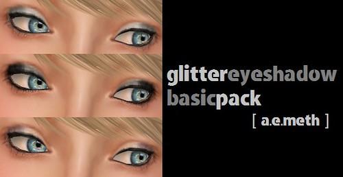 Glitter Eyeshadow: Basic Pack