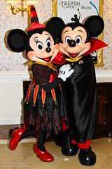 DLP Halloween 2010 - Mickey and Minnie all dressed up for Halloween