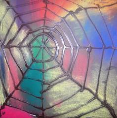 Web (maureencrosbie) Tags: spider drawing webs pva childrensart langlands