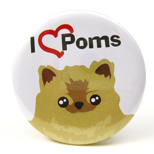 MIPP001-i-heart-poms-mirror and magnet