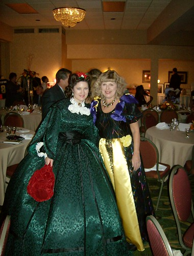 Me and Sally Tippett Rains, author of The Making of a Masterpiece~ The true story of Margaret Mitchell's Gone With the WInd