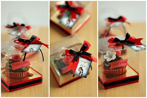 Yudah & Erika's Engagement Cupcakes