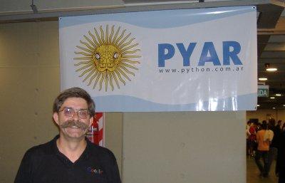 Bandera PyAr y Alex