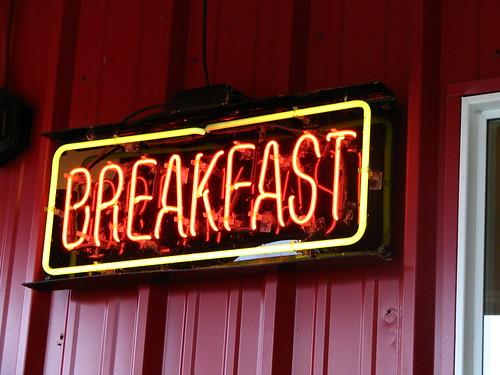 Breakfast Neon