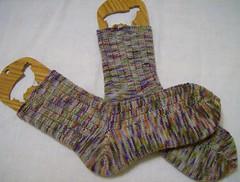 Spring Plain & Fancy socks