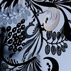 Moonlight poetica (cattycamehome) Tags: blue light sculpture stilllife moon abstract black macro silhouette metal tag3 taggedout silver dark dance 3d bravo poetry tag2 pattern tag1 shadows dof darkness dancing dusk quote curves shapes silhouettes poetic homer moonlight swirls poetica swirly carlsandburg catherineingram july2007 cattycamehome allrightsreserved© howwearenow