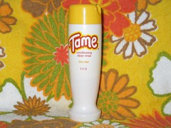 Vintage 1970's Tame Creme Rinse (twitchery) Tags: vintage hair shampoo 70s conditioner vintageads vintagebeauty creamrinse