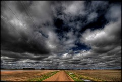 Alberta Sky (A guy with A camera) Tags: road sky canada nature field clouds rural landscape nikon scenery cloudy farm country sigma farmland alberta prairie 1020 soe hdr darksky d80 mywinners abigfave shieldofexcellence anawesomeshot diamondclassphotographer excellentphotographerawards