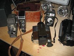 8mm and Super-8 movie cameras