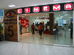 cinema lumiére banana shopping goiânia