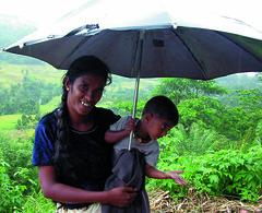 MountainsideBeggarAndChild (willster1000) Tags: srilanka python teapicking elephants pinnewala mahtoot kandy waterfall hindu hindutemple