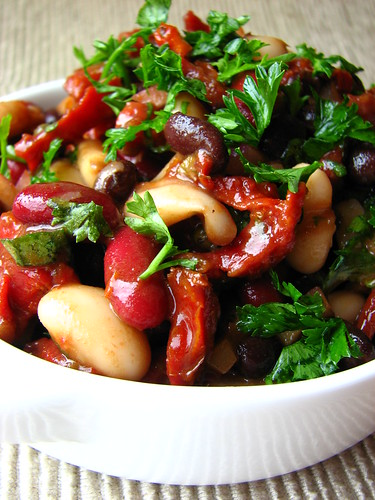 3-Bean Salad with Sundried Tomatoes