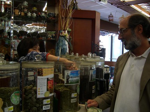 Curt Gibbs purchasing tea