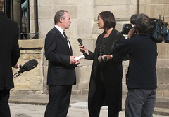 interview (timsnell) Tags: charity camera news television tv yorkshire leeds funeral bbc sparks interview looknorth janetomlinson christaackroyd