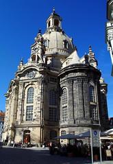 Dresden - Frauenkirche (sven.dressler) Tags: panorama monument architecture dresden sony saxony culture sachsen frauenkirche dscf707 kulture travelerphotos