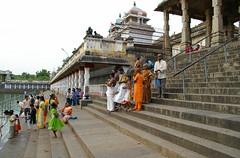 India - Chidambaram (Sabhanayaka Nataraja Temple, steps to tank) (aupeter100) Tags: india temple religion hindu nataraja chidambaram nataraj sabhanayaka sabhanayakanatarajatemple