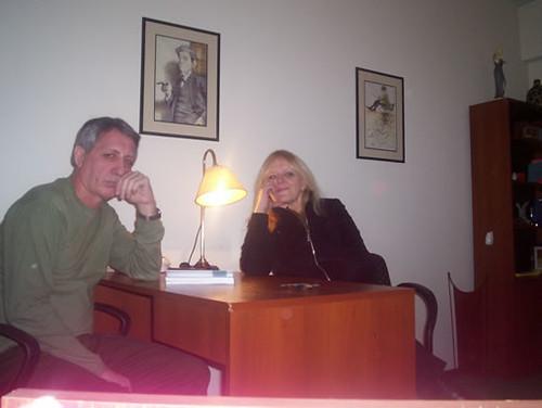 Encuentro entre psicoanalistas. Rosa Aksenchuk - Daniel Larsen. Agosto 2007