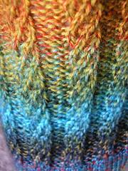 Broad Spiral Rib Pattern