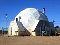 Cal City's Dome House (stars4esther) Tags: california white desert socal mojave dome southerncalifornia californiacity kerncounty domehouse calcity northedwards stars4esther