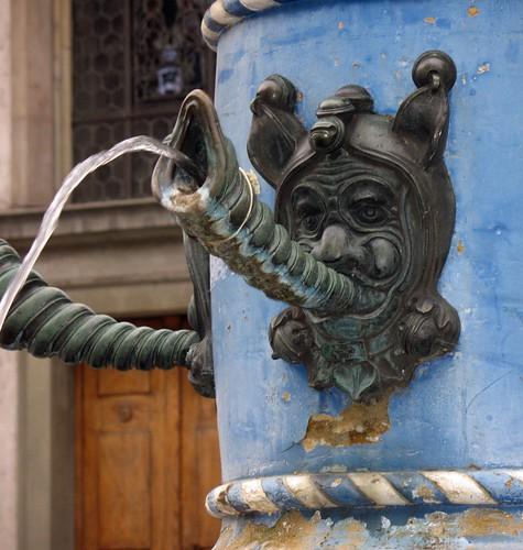 Lucerne fountain
