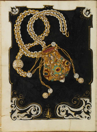 Jewel Book of the Duchess Anna of Bavaria (1550s) b