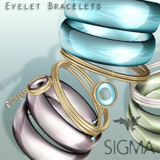SIGMA Jewels/ Eyelet bracelets