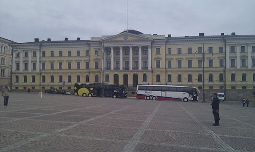 Helsinki: Government Building in the main square