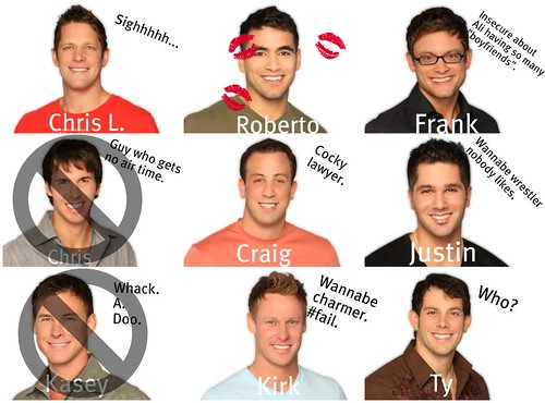 The Bachelorette 2010 - Top Seven