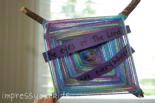 god' eye scripture craft