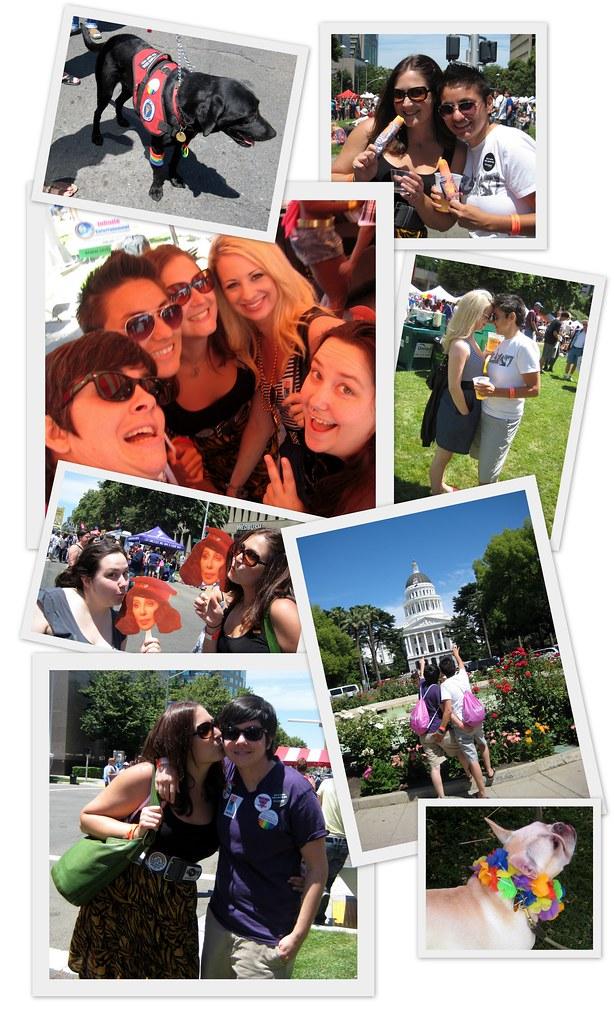 06 19 10 Sacramento Pride Festival collage