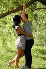 Jon and Jess (gemmarose.) Tags: wedding cute love nature beautiful engagement photoshoot montreal young rings portaits maisonneuvepark