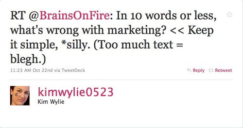 kimwylie0523: What's Wrong With Marketing?