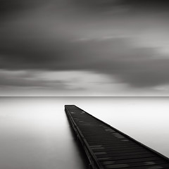 The Usual Subject (Joel Tjintjelaar) Tags: jetty bwphotography blackandwhitephotography goldenratio 161803399 nd110 bwlongexposure bwfineartphotography tjintjelaar bwnd110filter daytimelongexposurephotography