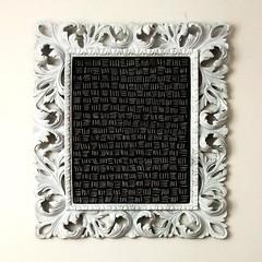 Frame Games - FG2 (la.daridari) Tags: white black frame chalkboard framegames
