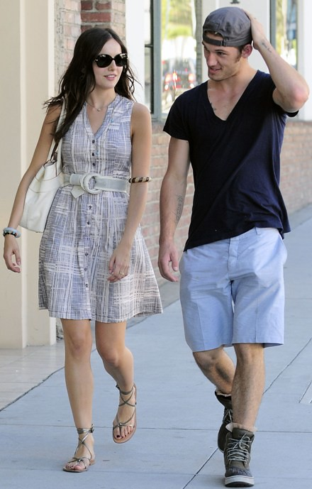 #5989880 Camilla Belle was all smiles as she strolled over to Il Tramezzino eatery in Los Angeles, California on November 2, 2010 with a handsome young man. Camillla once dated Joe Jonas but it seems she has moved on from that love interest and onto a new