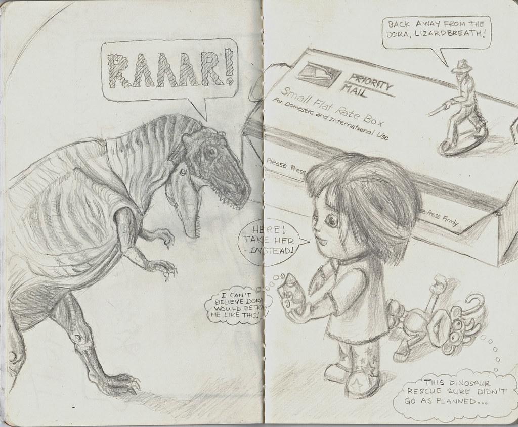 Dora's Dinosaur Rescue