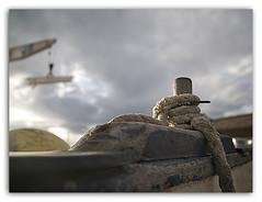 De cabo a rabo (ouyea...) Tags: sky clouds marina boat cabo cab girona cielo nubes catalunya grua costabrava  fornells bot begur ouyea leicadvarioelmarit lumixdmcl1 leicad