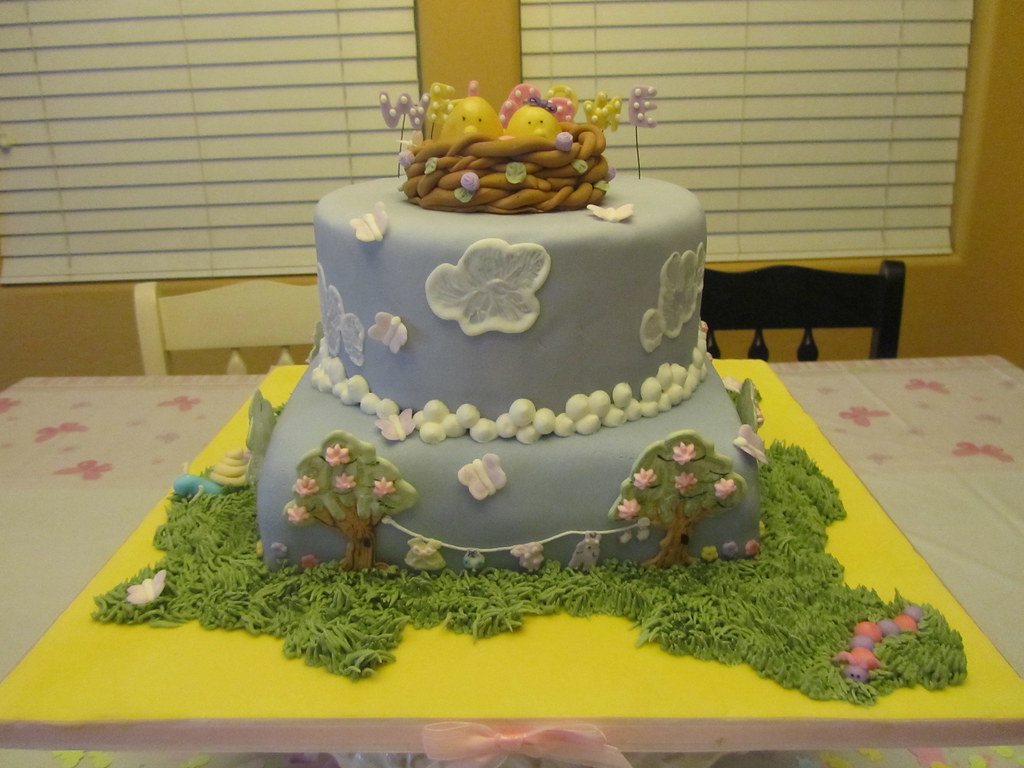 My Baby Shower Cake