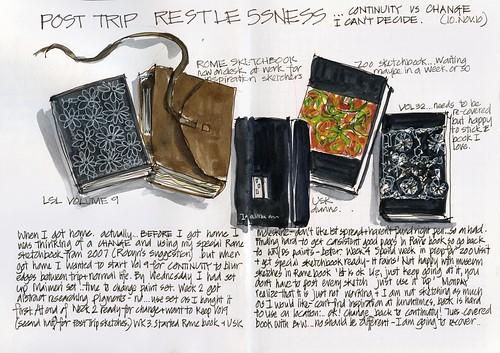 101110 Post Trip Restlessness