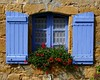 Open Wide (Lisa McKinnon) Tags: flowers france window dordogne shutters geraniums abigfave superhearts lpwindows